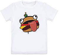 """Детская футболка Fortnite Battle Royale """"Durrr Burger"""" (белая)"""