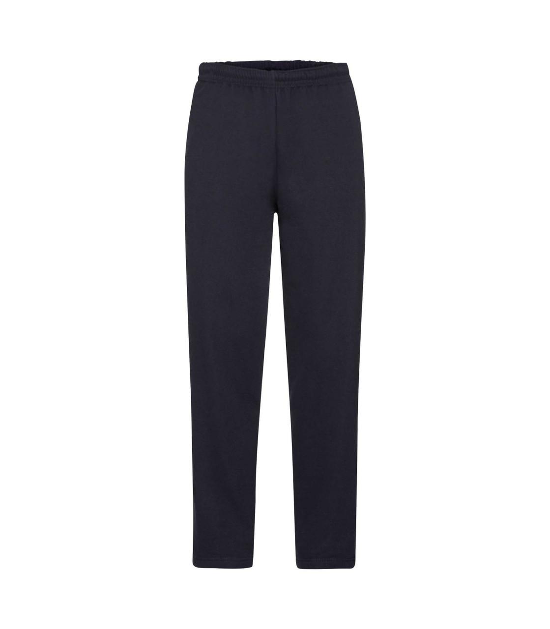 Мужские спортивные брюки утепленные темно-синие 032-АZ
