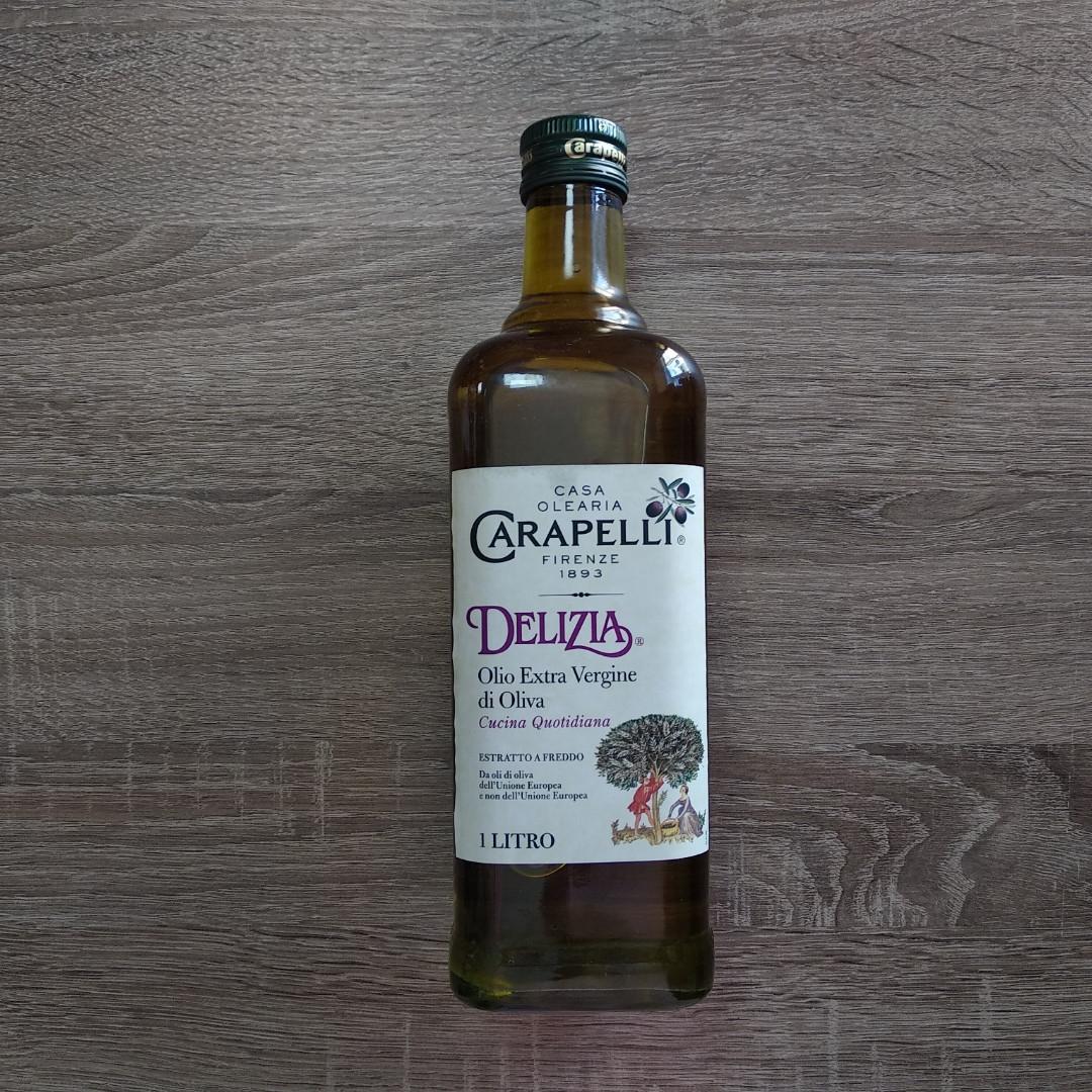 Оливкова олія Carapelli Delizia Olio Extra Vergine di Oliva 1л.