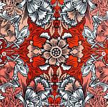 10821-5, павлопосадский платок на голову хлопковый (саржа) с подрубкой, фото 4