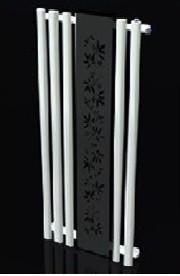 Полотенцесушитель-радиатор Termotek 600х1600 декоративный (бело-черный)