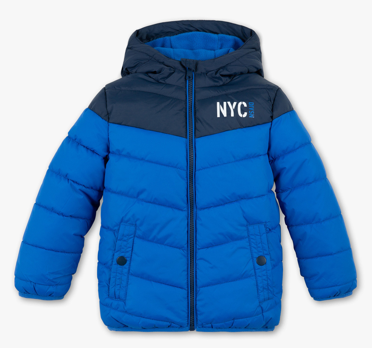 Демисезонная куртка для мальчика синяя NYC C&A Германия Размер 104, 110