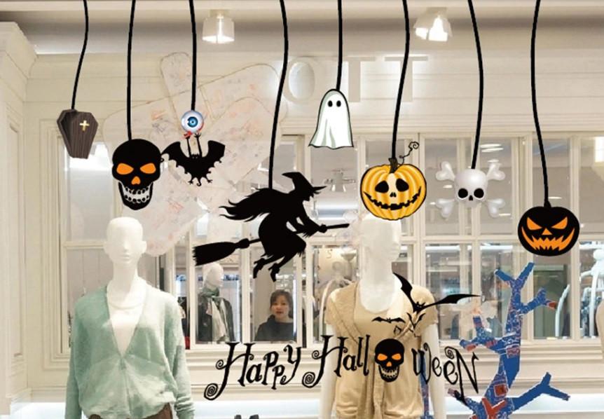 Стикеы для Хэллоуина - размер наклейки 50*70см