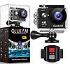 Экшн камера Geekam S9R Pro 4K WI-FI + Пульт