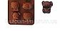 Планшет кондитерский силиконовый звери  львенок из 4х, фото 2