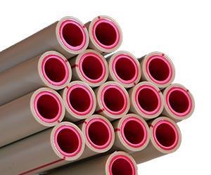 Труба fiber для отопления из полипропилена