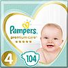 Підгузники дитячі Pampers Premium Care Dry Max Maxi 4 (9-14 кг) Mega Pack 104 шт