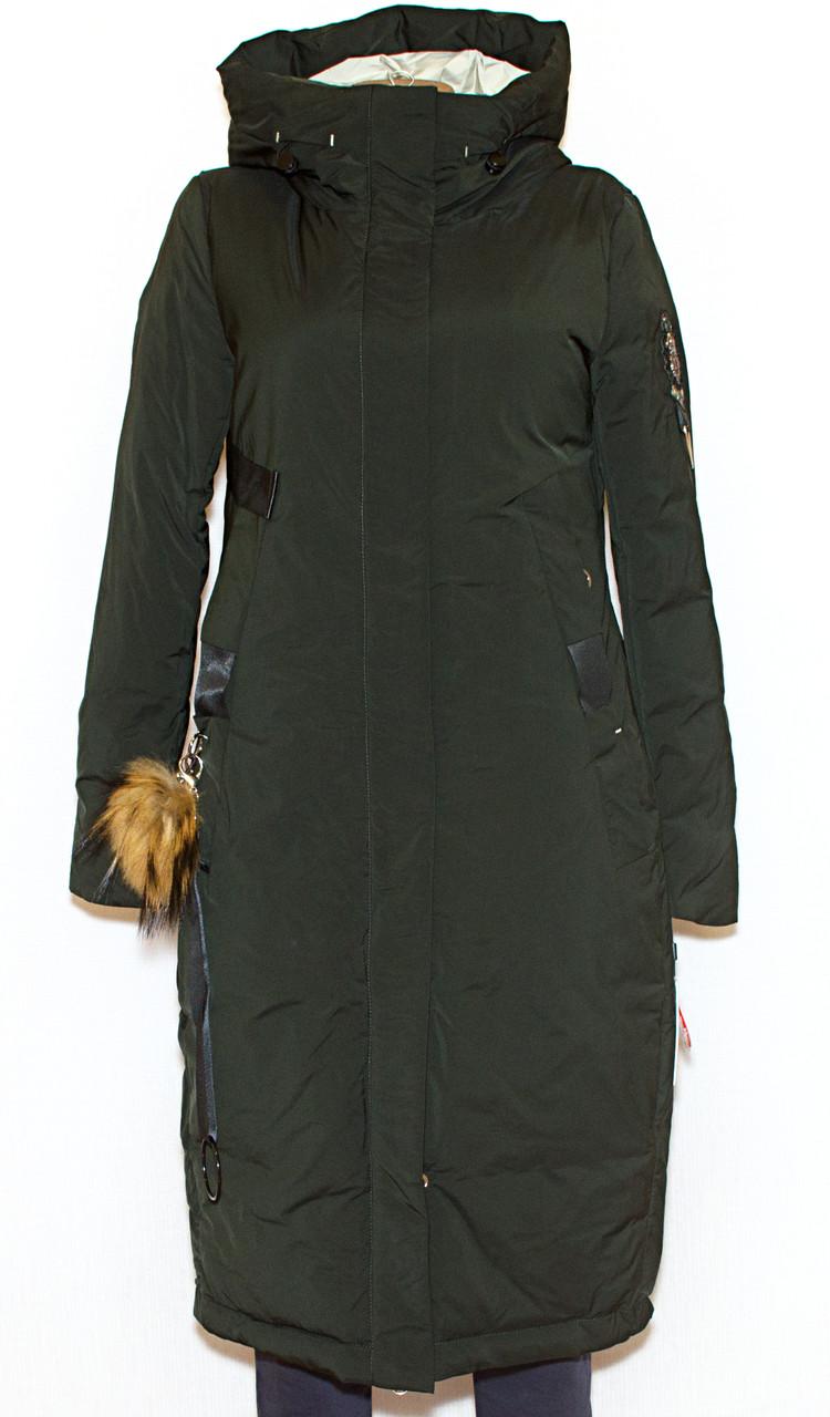 Зимняя женская длинная куртка Visdeer1957 XS