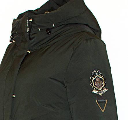 Зимняя женская длинная куртка Visdeer1957 XS, фото 2
