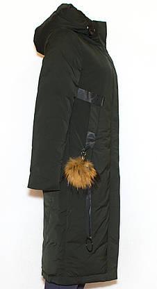 Зимняя женская длинная куртка Visdeer1957 XS, фото 3
