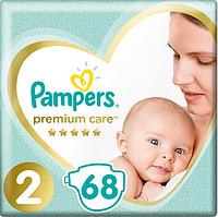 Подгузники Pampers Premium Care New Baby 2 (4-8 кг) Econom Pack 68 шт, фото 1