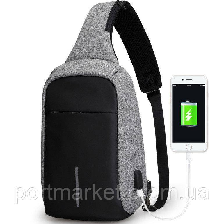 Городской рюкзак BOBBY MINI с защитой от карманников и USB-портом