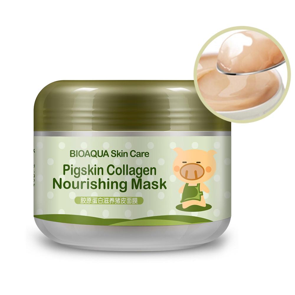 Коллагеновая питательная маска от BioAqua Pigskin Collagen