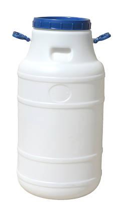 Бидон пластиковый 60 л пищевой, фото 2