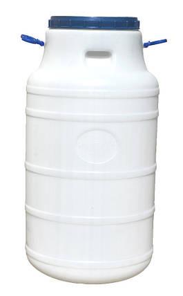 Бидон пластиковый 100 л пищевой, фото 2