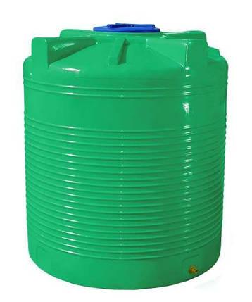 Емкость RVД 5000 л. вертикальная, двухслойная зелёная, фото 2