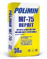 Штукатурка Polimin МГ 75 гипсоперлитовая