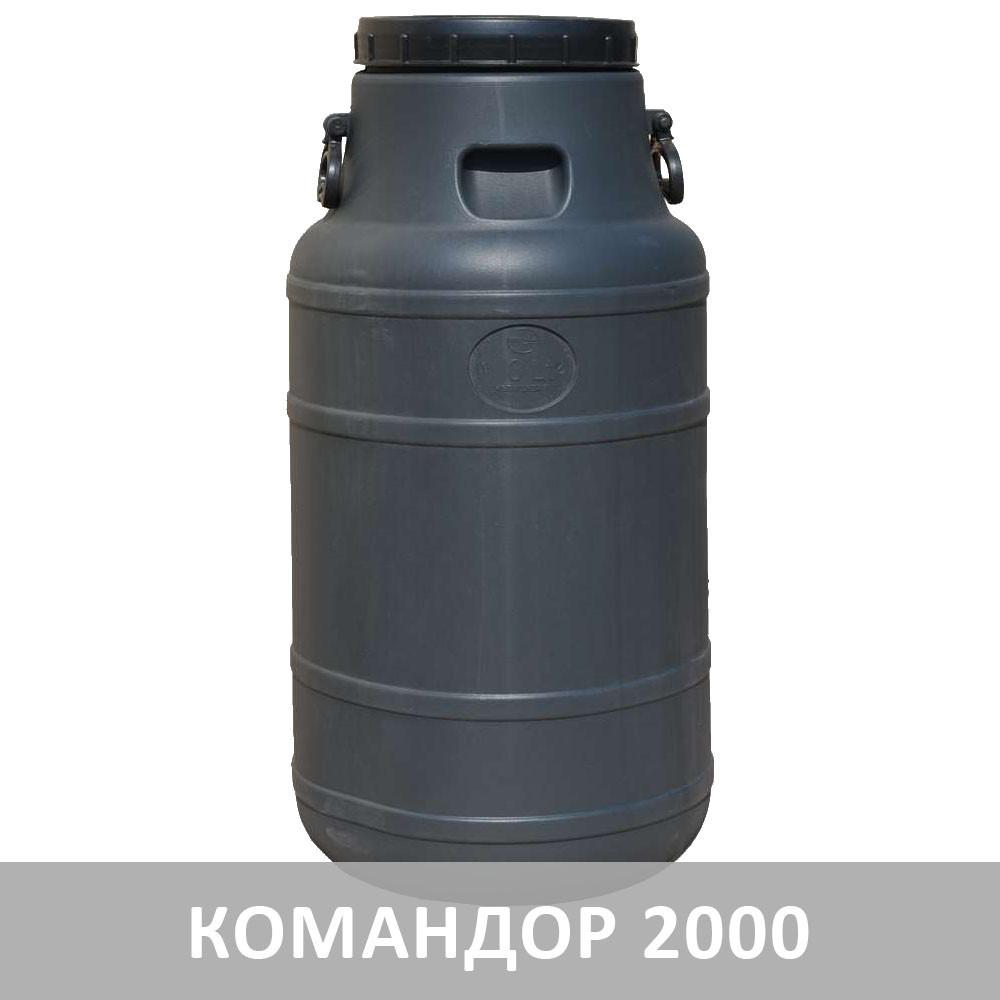 Бидон 100 л Черный непищевой