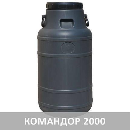 Бидон 100 л Черный непищевой, фото 2