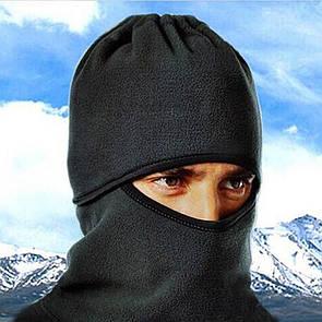Балаклава ТЕРМО-флисовая. Балаклава лыжная теплая бафф баф маска бандана флис (зимняя)