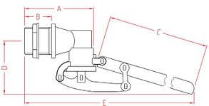 Поплавок для емкости 3/4 дюйма Италия, фото 3