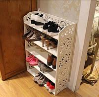 Полка для обуви в прихожую . Обувница. Подставка для обуви.