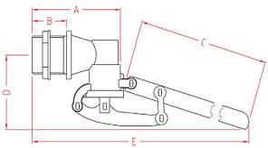 Поплавок для емкости 1 дюйм Италия, фото 2