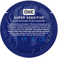 Презервативы ONE Super Sensitive (тонкие)