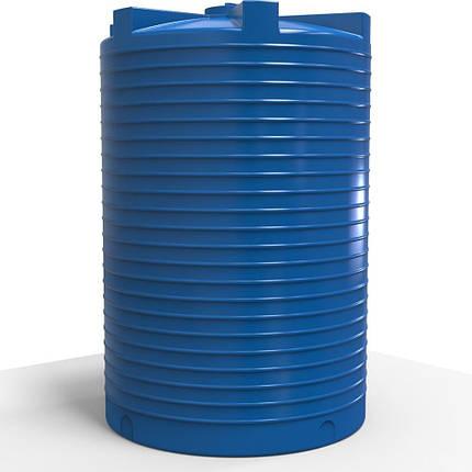 Ємність для води вертикальна пластикова 15000 л стандартна, фото 2