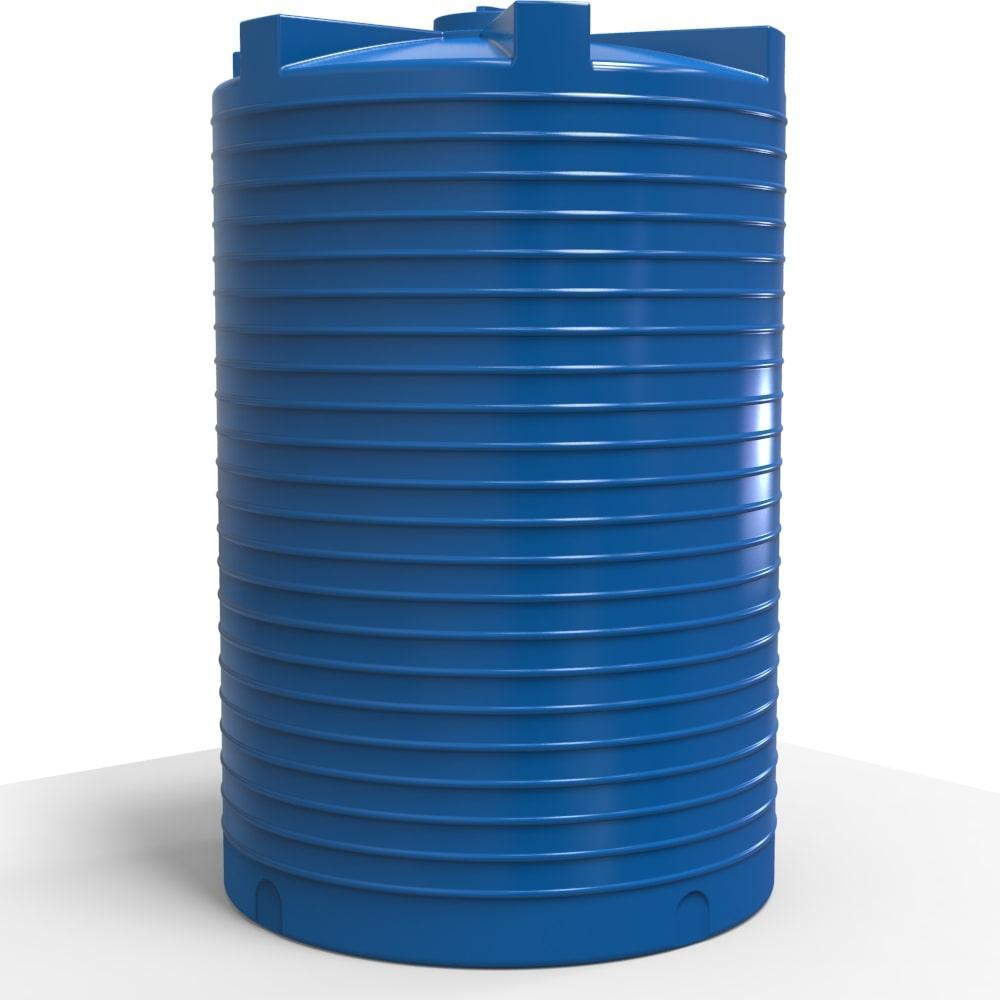 Ємність для води вертикальна пластикова 15000 л стандартна