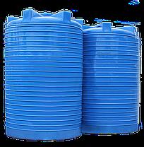 Ємність для води вертикальна пластикова 15000 л стандартна, фото 3