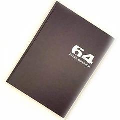 Книга канцелярская 64л (клетка) Мандарин пантонная обложка