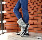Демисезонные женские сапоги цвета никель, натуральная кожа 36 41 ПОСЛЕДНИЕ РАЗМЕРЫ, фото 5