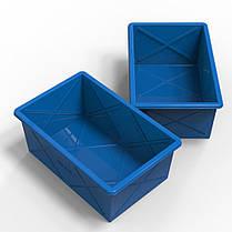 Контейнер пластиковый прямоугольный 350 литров, фото 3