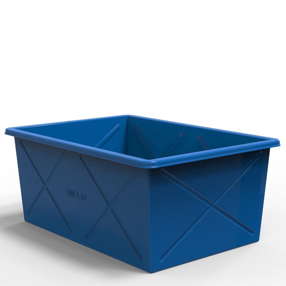 Пластиковий контейнер великий 500 літрів