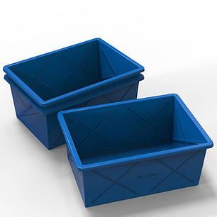 Пластиковий контейнер великий 500 літрів, фото 2