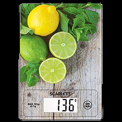 Кухонные весы до 10 кг Scarlett SC-KS57P21