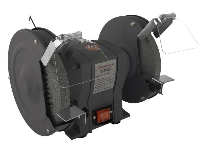 Точильный станок Энергомаш 200 мм, 400 Вт ТС-60202