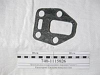 Прокладка впускного коллектора КамАЗ (передняя) (домик) 740.1115026