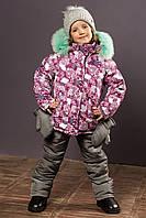 Комбинезон зимний для девочки.Куртка и полукомбинезон.