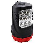 Фонарь-прожектор аккумуляторный/лампа Yajia YJ-2827 Красный с черным (R0068), фото 2