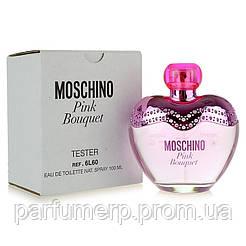 Moschino Pink Bouquet (100мл), Женская Туалетная вода Тестер - Оригинал!