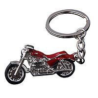 Брелок Мотоцикл красный, фото 1