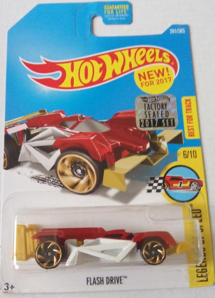 Машинка Hot Wheels 2017 Flash Drive