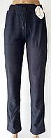 "Стрейчевые брюки на кулиске ""Натали Бамбук"". Серо-синий цвет. Р-р 48-50-52. №К65-1., фото 1"