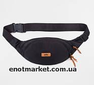 Сумка на пояс WAIST BAG черного цвета