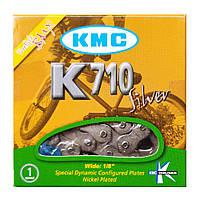 Цепь на BMX оригинал  КМС K-710 Silver - 116 зв.
