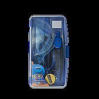 Готовальня Zibi SMART 9 предметов (синий), SMART Line
