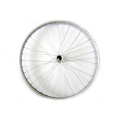 """Колесо заднє в зборі 28 """" не посилене / 36 спиць / сталевий обід / для дорожнього велосипеда"""