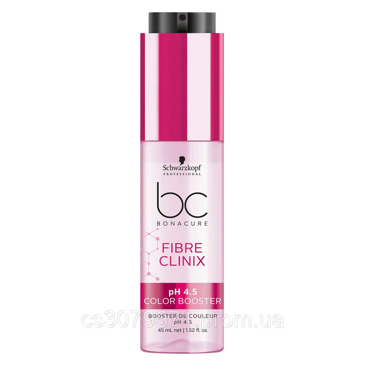 Концентрат для окрашенных волос Schwarzkopf Professional Bonacure Fibre Clinix pH 4.5 Color Booster - 45 мл
